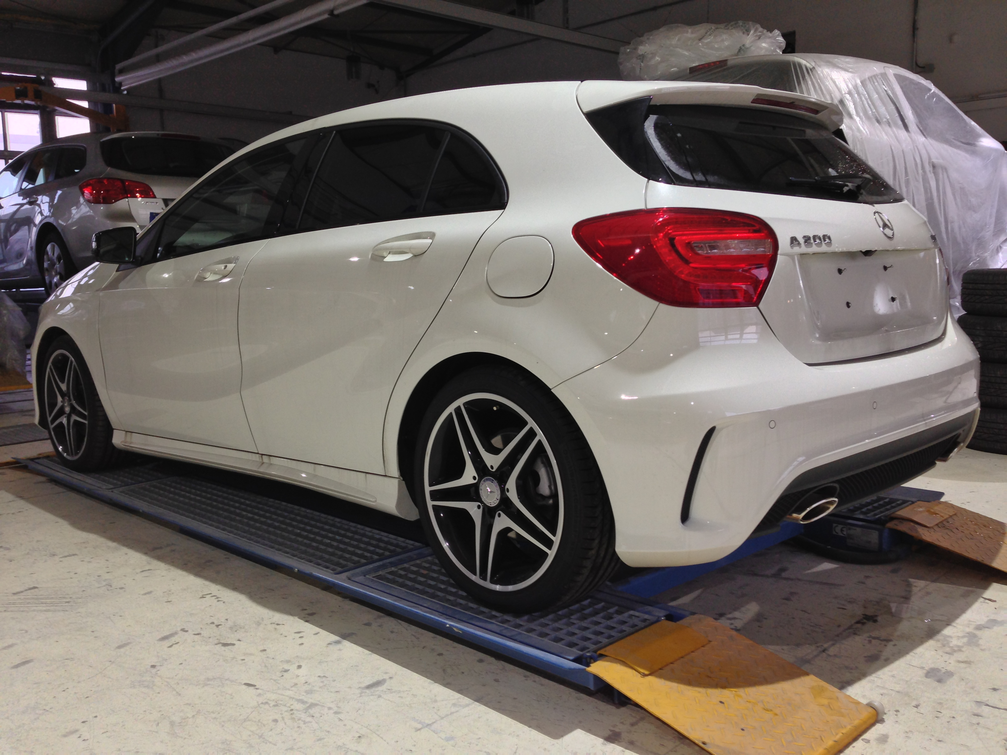 mercedes a klasse w 176 amg finish tuning karosserie. Black Bedroom Furniture Sets. Home Design Ideas